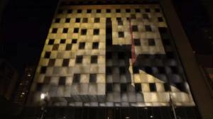 video mapping su edifici e monumenti per eventi