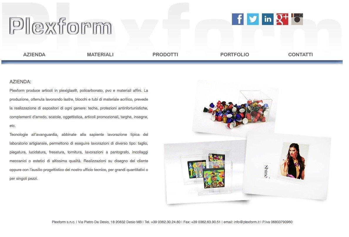 portfolio web designer plexform