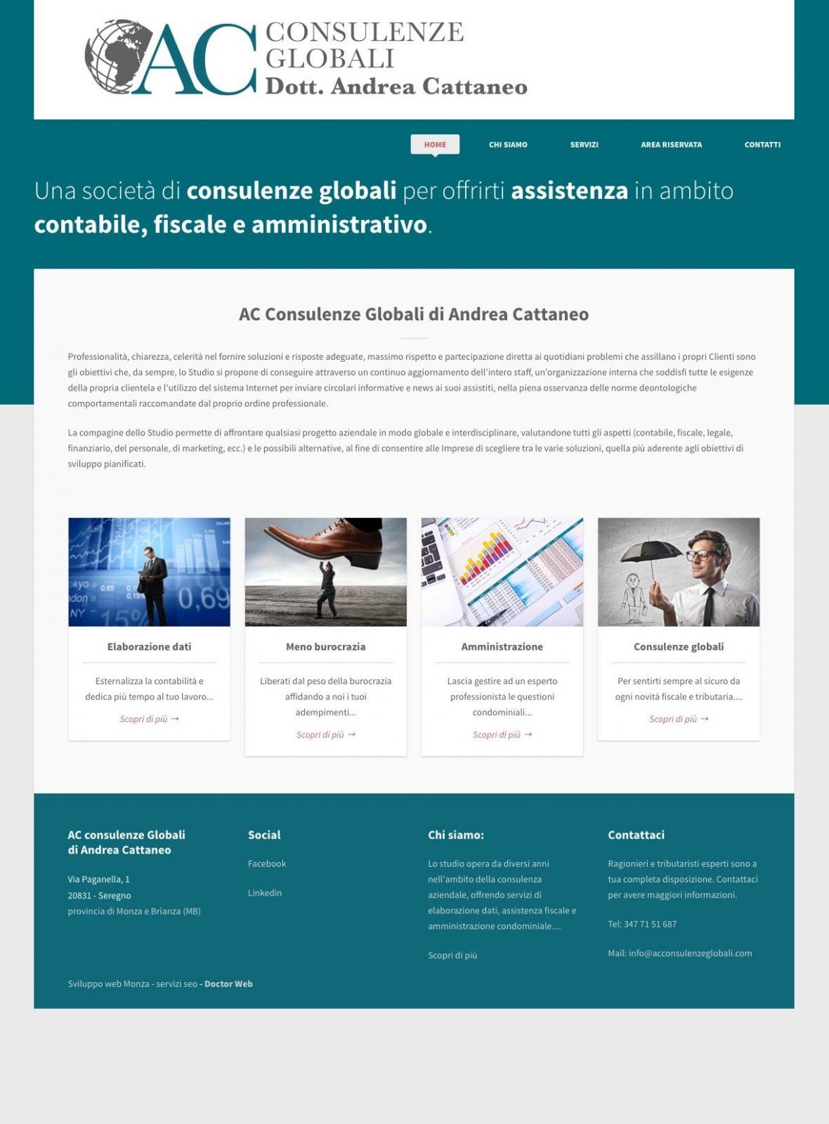 portfolio web designer ac consulenze