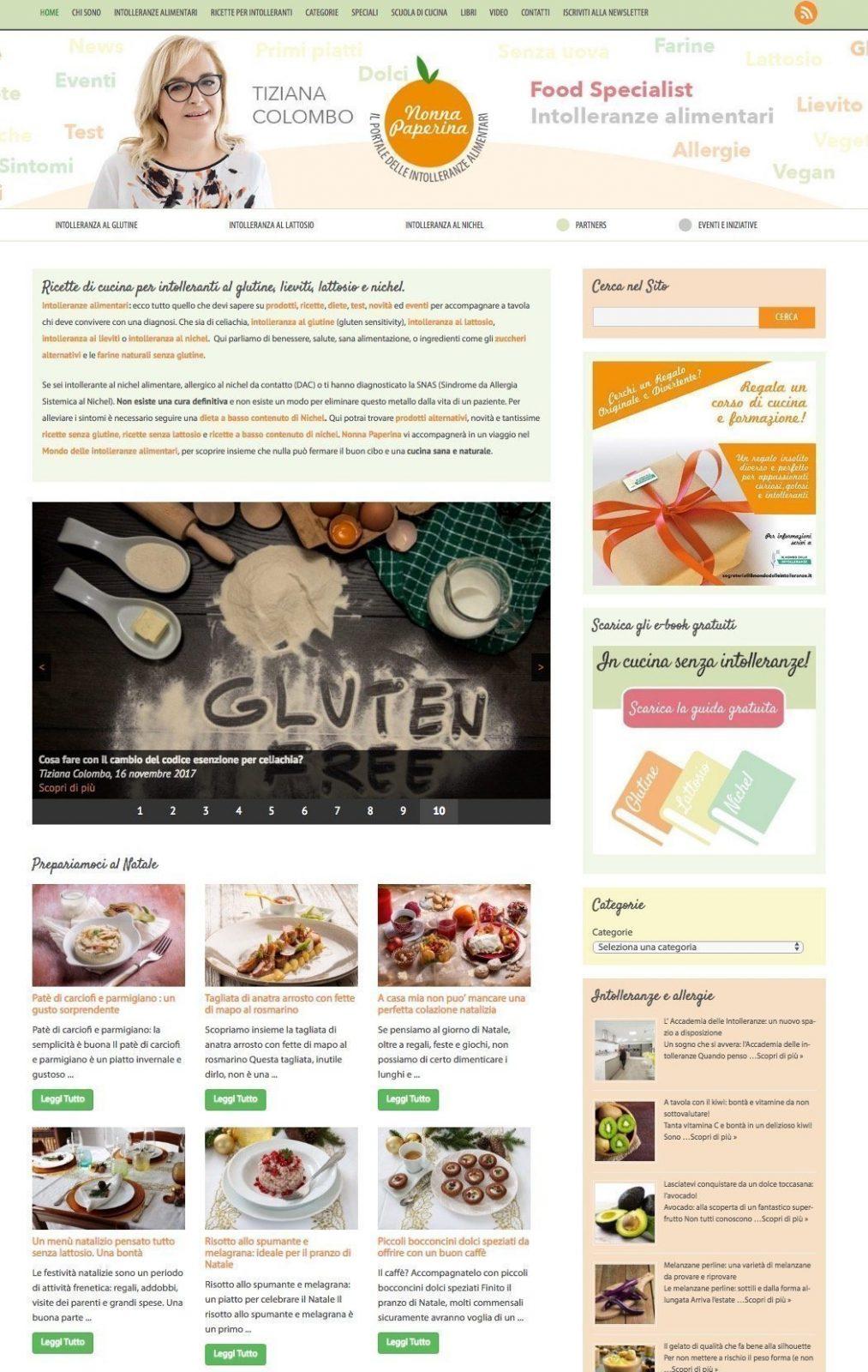portfolio web designer nonna paperina