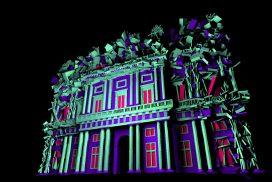 Realizzazione Video Mapping 3D