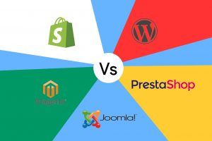 Piattaforme di e-commerce, i migliori cms confronto: wordpress vs magento vs prestashop vs shopify