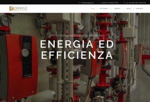 Studio di ingegneria a milano - DM ingegneria - portfoolio realizzazione siti web