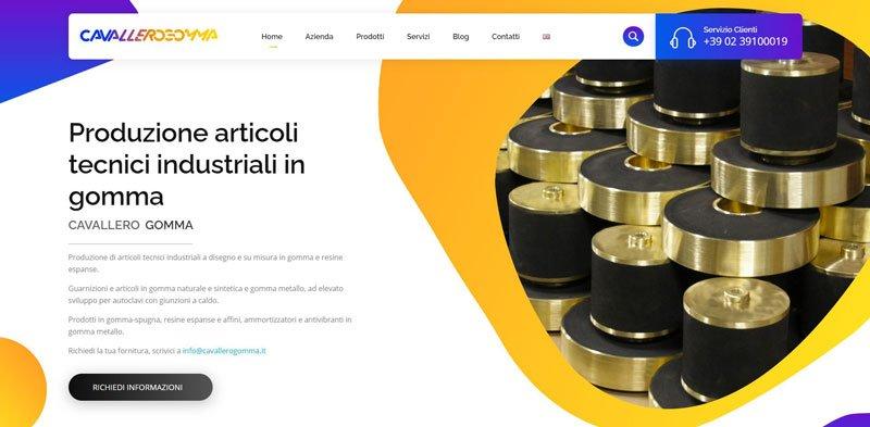 Produzione articoli tecnici e aziendali in gomma: CavalleroGomma 1