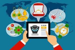 Servizi di creazione e sviluppo e-commerce per gioielli