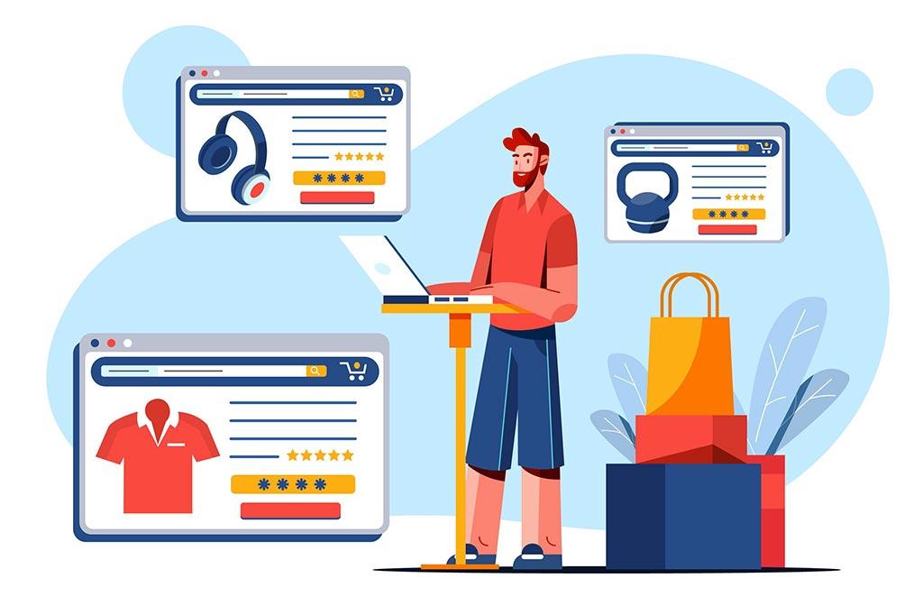 Servizi di creazione e sviluppo e-commerce per negozi di abbigliamento