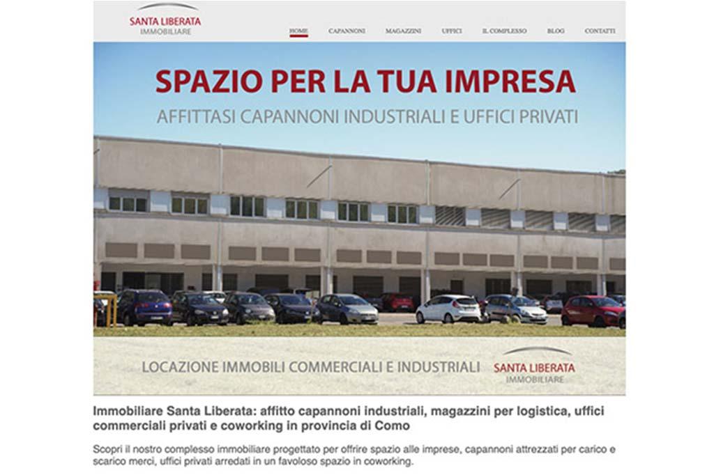 Immobiliare Santa Liberata: affitto capannoni industriali, magazzini per logistica